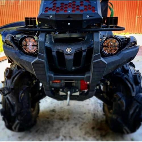 Комплект светодиодной оптики Rigid industries  в штатные места для Yamaha Grizzly 700 2008-2015