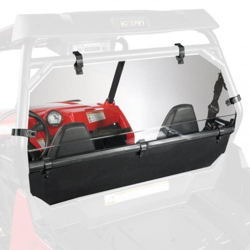 Заднее стекло с доп. перегородкой багажного отсека для Polaris RZR900XP